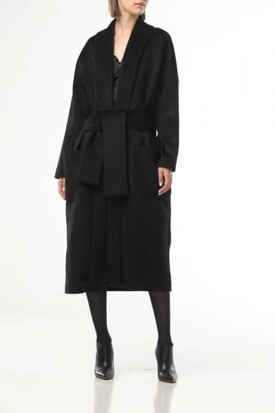 Пальто на запах свободного кроя ALOT_500213, фото 1 - в интеренет магазине KAPSULA