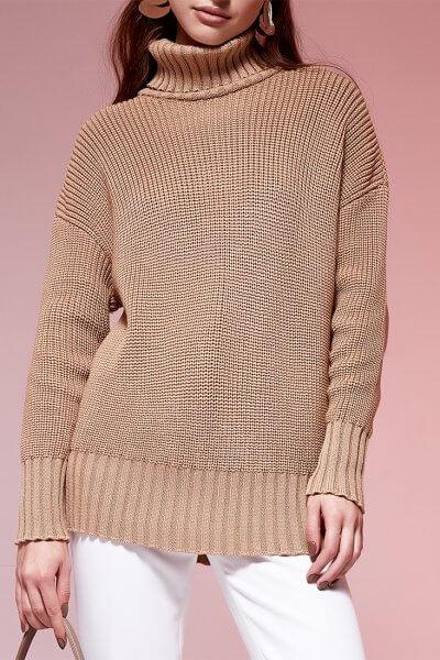 Свободный свитер из шерсти JDW_JD0609, фото 1 - в интеренет магазине KAPSULA