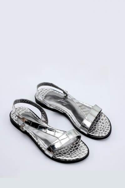 Кожаные сандали Olga NZR_olga-silver, фото 1 - в интеренет магазине KAPSULA