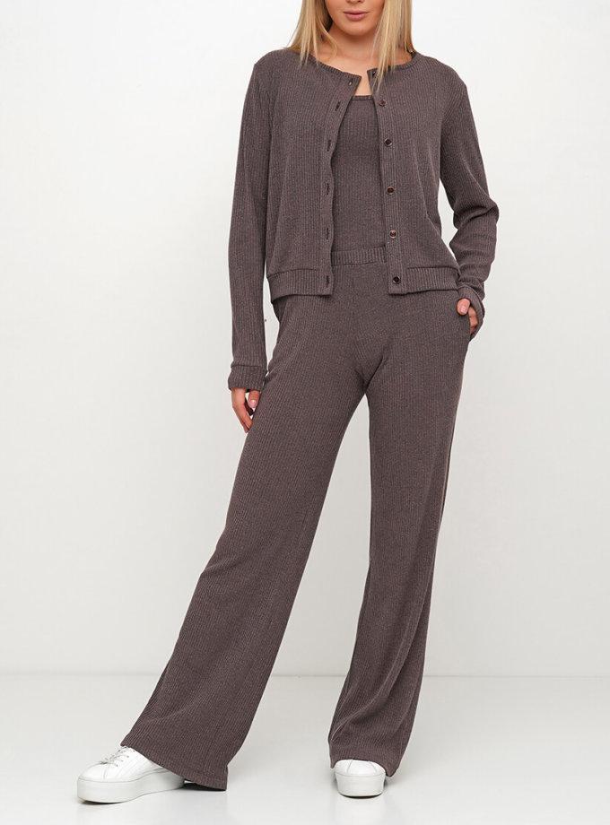 Вязаные брюки из шерсти AY_3017, фото 1 - в интернет магазине KAPSULA