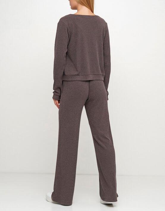 Вязаные брюки из шерсти AY_3017, фото 2 - в интеренет магазине KAPSULA