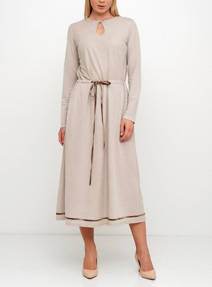 Легкое платье миди AY_3018, фото 1 - в интернет магазине KAPSULA