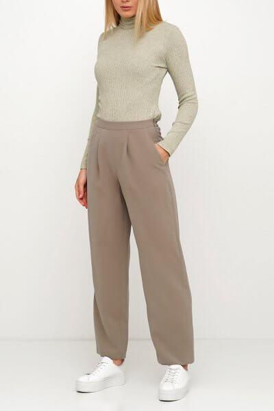 Хлопковые брюки на резинке AY_3024, фото 4 - в интеренет магазине KAPSULA