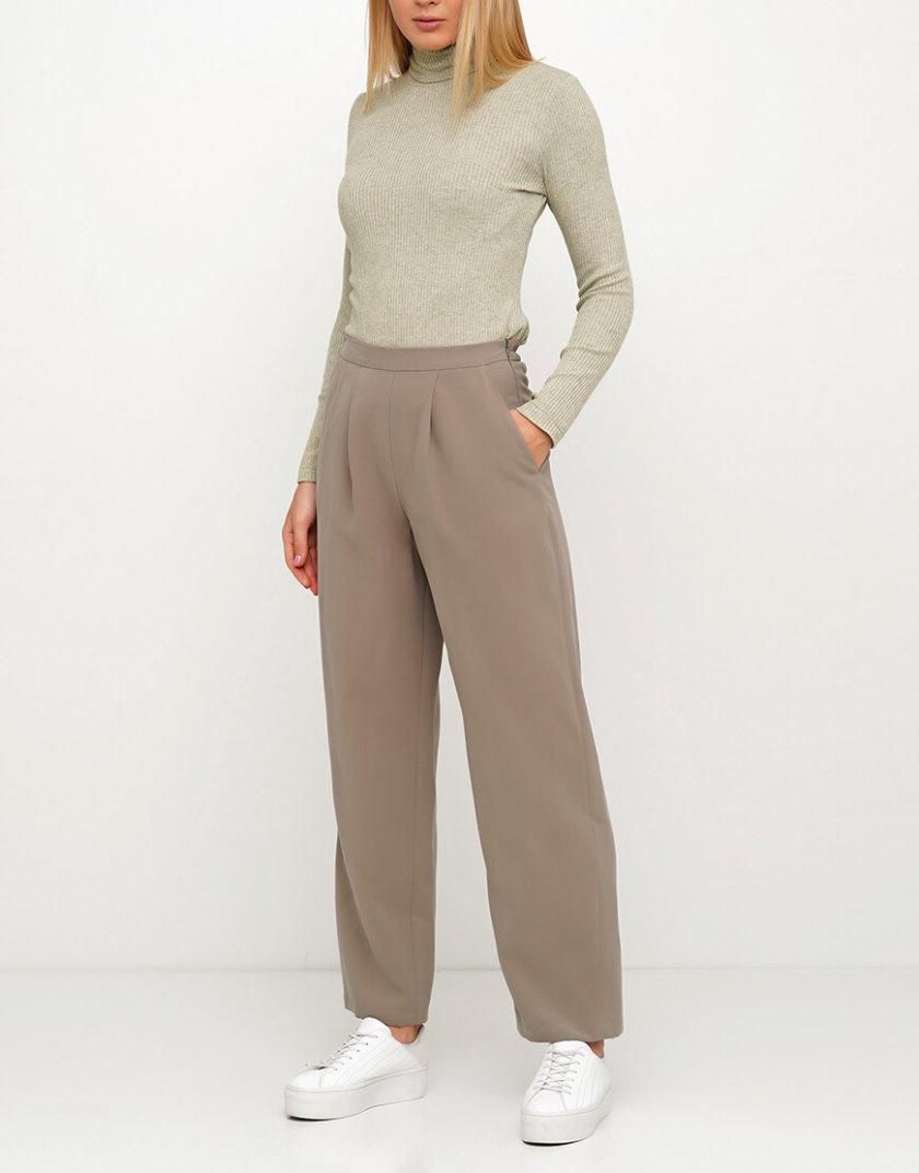 Хлопковые брюки на резинке AY_3024, фото 1 - в интернет магазине KAPSULA