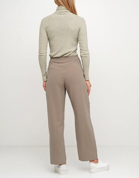 Хлопковые брюки на резинке AY_3024, фото 2 - в интеренет магазине KAPSULA