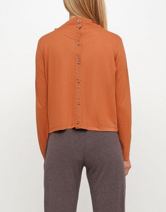 Блуза спуговицами сзади AY_3026, фото 2 - в интеренет магазине KAPSULA