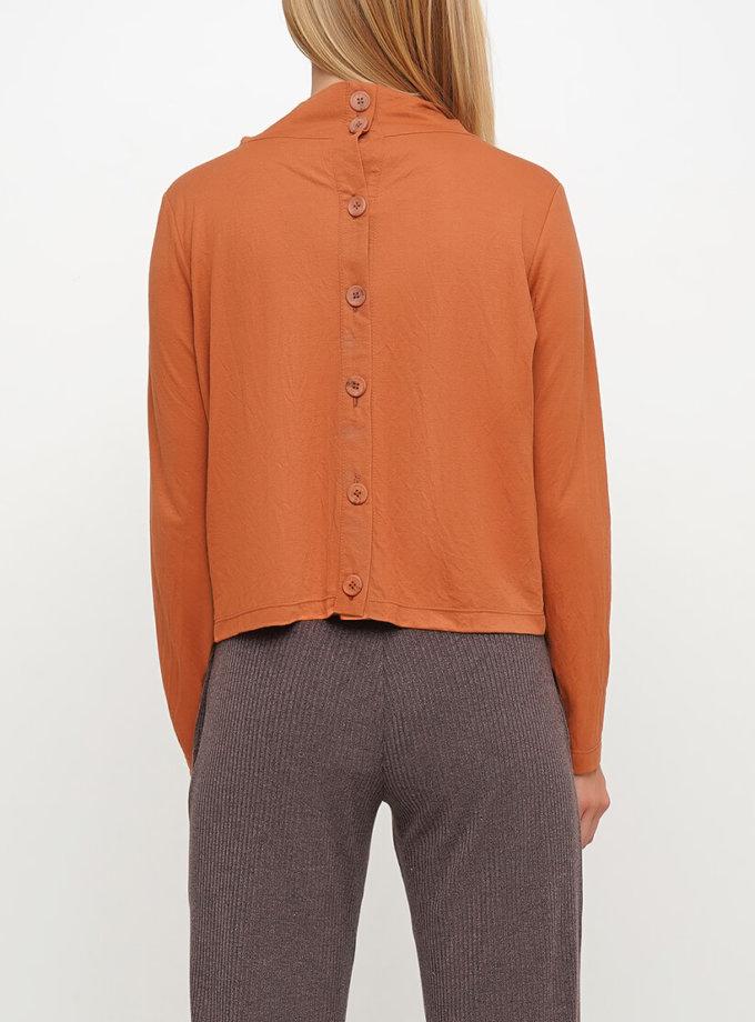 Блуза спуговицами сзади AY_3026, фото 1 - в интеренет магазине KAPSULA