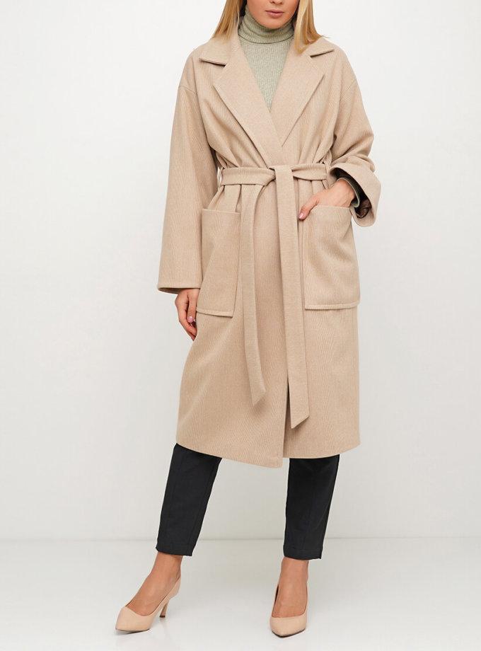 Пальто из шерсти с английским воротником AY_3028, фото 1 - в интернет магазине KAPSULA