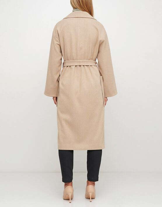 Пальто из шерсти с английским воротником AY_3028, фото 2 - в интеренет магазине KAPSULA
