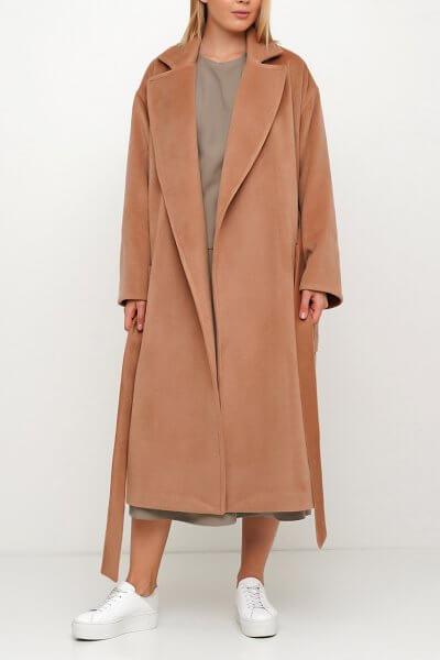 Шерстяное пальто на запах AY_3029, фото 1 - в интеренет магазине KAPSULA