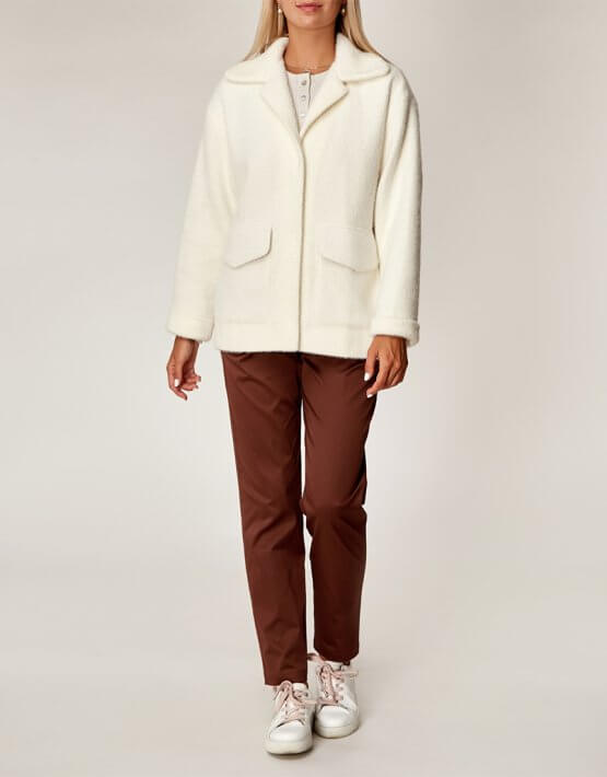 Пушистая куртка на подкладке CVR_JAKETM2020, фото 4 - в интеренет магазине KAPSULA