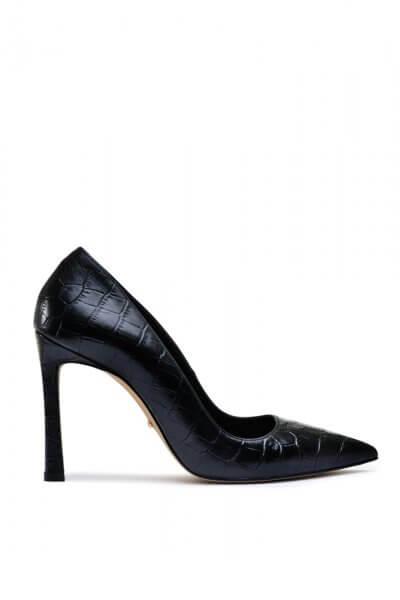 Кожаные туфли на высоком каблуке MDVV_158601, фото 5 - в интеренет магазине KAPSULA