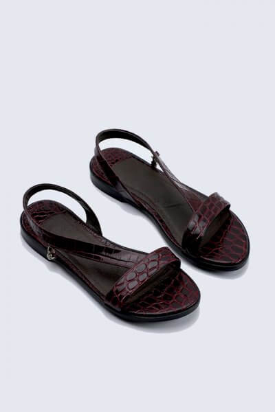 Кожаные сандали Olga NZR_olga-burgundy, фото 1 - в интеренет магазине KAPSULA