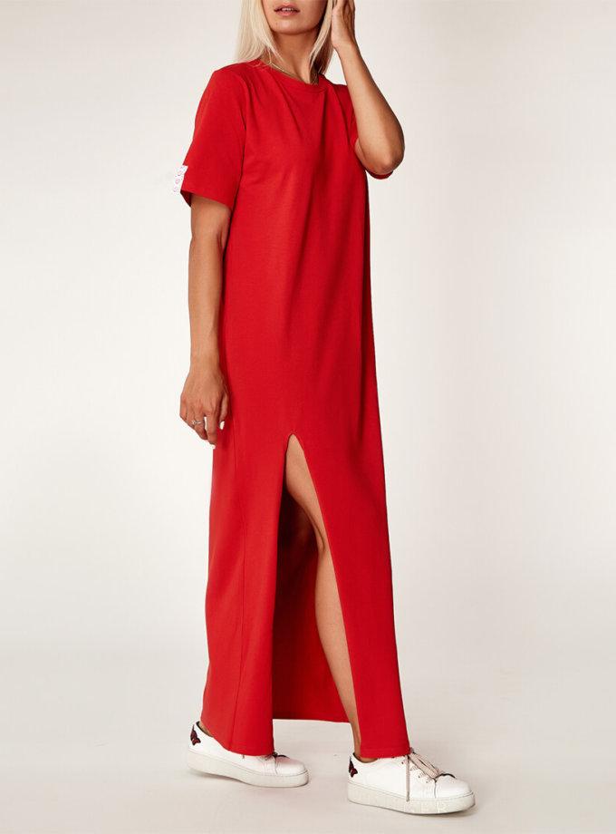 Хлопковое платье oversize CVR_REDTS2020, фото 1 - в интернет магазине KAPSULA