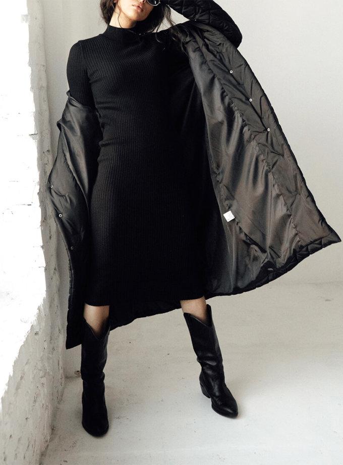 Платье в рубчик из шерсти JDW_JD1009, фото 1 - в интеренет магазине KAPSULA