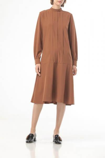 Легкое платье миди ALOT_100432, фото 1 - в интеренет магазине KAPSULA