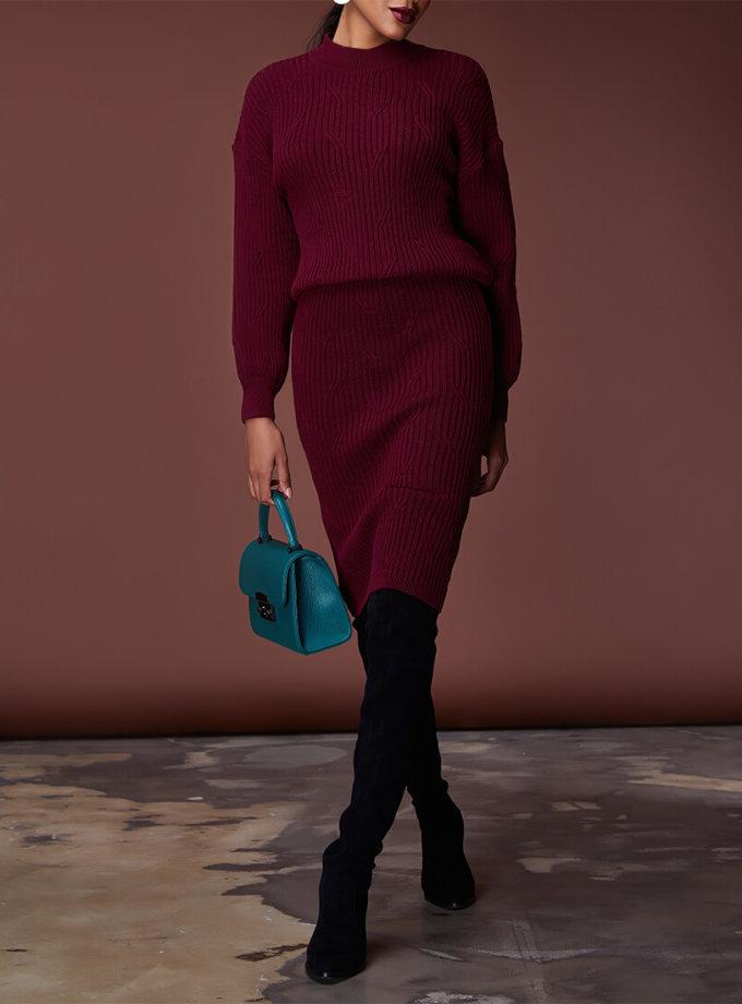 Комплект с юбкой из шерсти JDW_JD1509, фото 1 - в интернет магазине KAPSULA