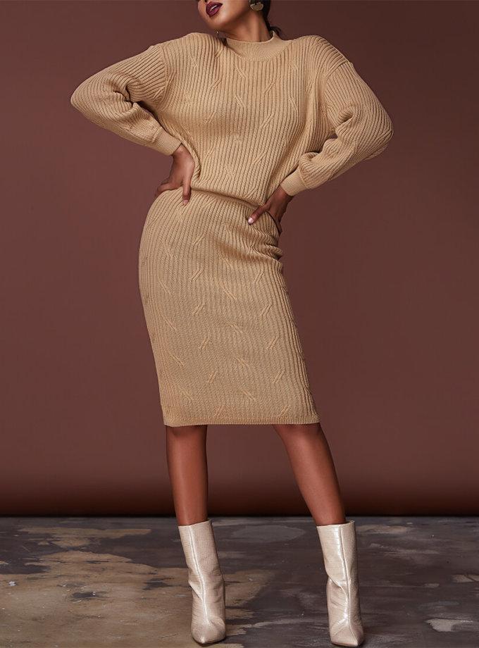 Комплект с юбкой из шерсти JDW_JD1609, фото 1 - в интернет магазине KAPSULA