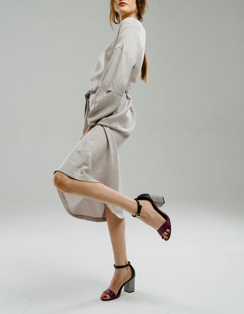 Платье со спущенными рукавами MNTK_MTDRS2011, фото 1 - в интернет магазине KAPSULA