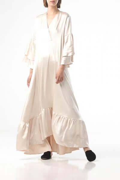 Объемное платье макси ALOT_100439, фото 1 - в интеренет магазине KAPSULA