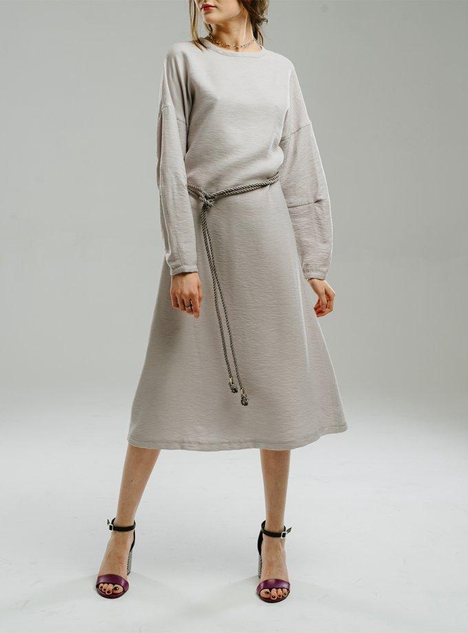 Платье со спущенными рукавами MNTK_MTDRS2011, фото 1 - в интеренет магазине KAPSULA