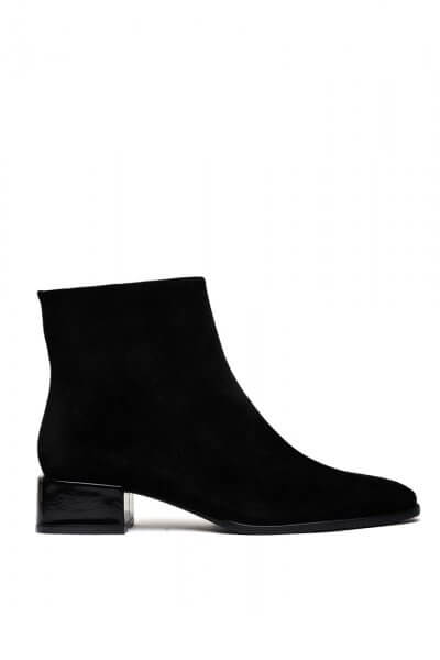 Замшевые ботинки на низком каблуке MDVV_452521, фото 1 - в интеренет магазине KAPSULA
