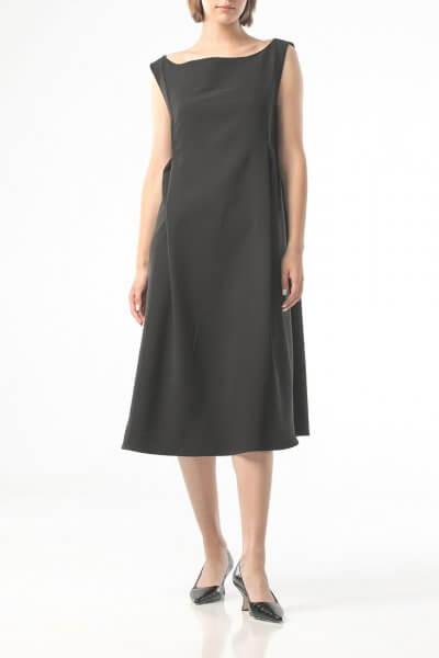 Двухслойное платье на молнии ALOT_100426, фото 3 - в интеренет магазине KAPSULA