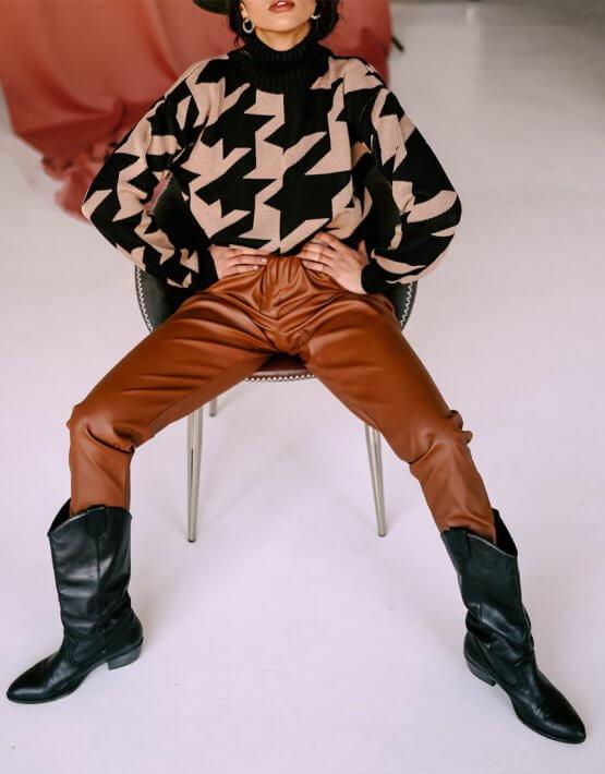 Свитер Scotland из шерсти JDW_JD1909, фото 5 - в интеренет магазине KAPSULA