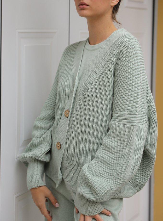 Кардиган с рельефным узором FRBC_FBKT_SS20_02, фото 1 - в интеренет магазине KAPSULA