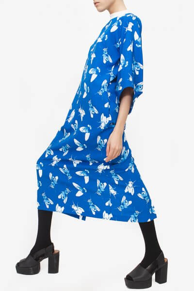 Платье в принт FRY PRINT JA_1806, фото 5 - в интеренет магазине KAPSULA
