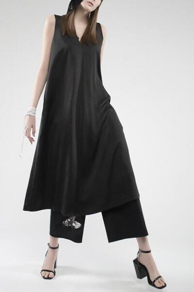 Широкие брюки с принтом из хлопка JA_1855, фото 1 - в интеренет магазине KAPSULA
