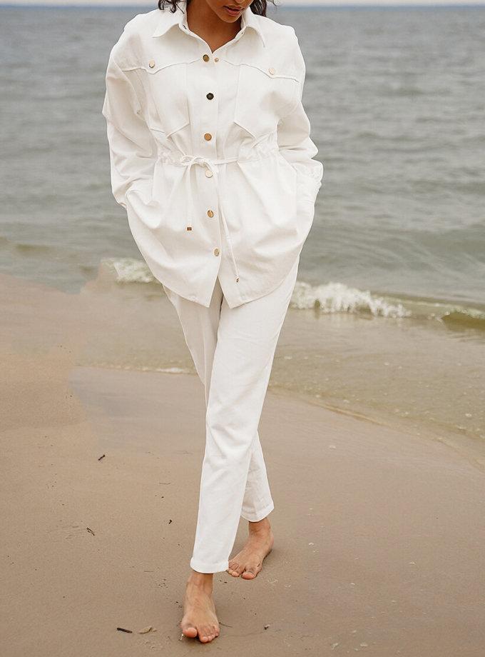 Джинсовый костюм Nala свободного кроя MC_MY0720-1, фото 1 - в интеренет магазине KAPSULA