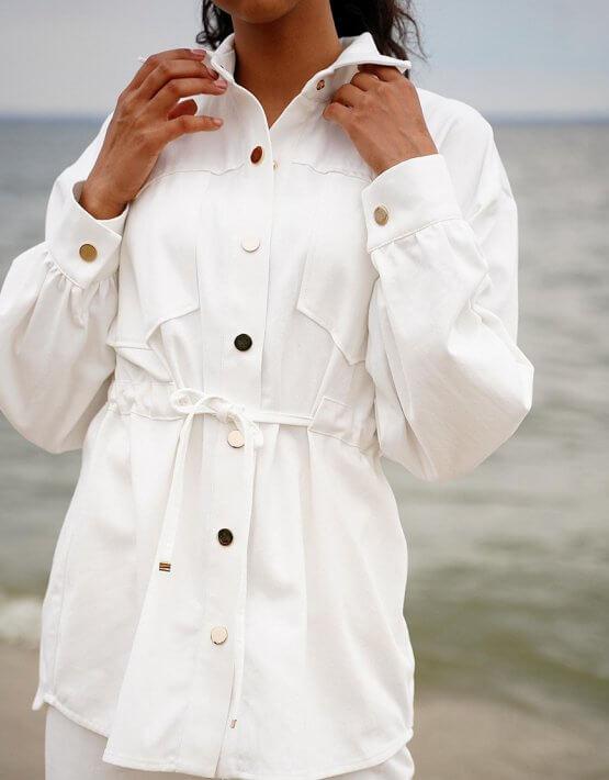 Джинсовый костюм Nala свободного кроя MC_MY0720-1, фото 6 - в интеренет магазине KAPSULA