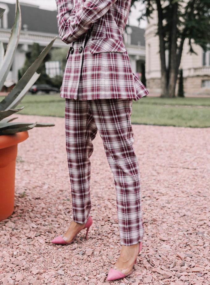 Брючный костюм в клетку Steff MC_s_MY0830, фото 1 - в интернет магазине KAPSULA