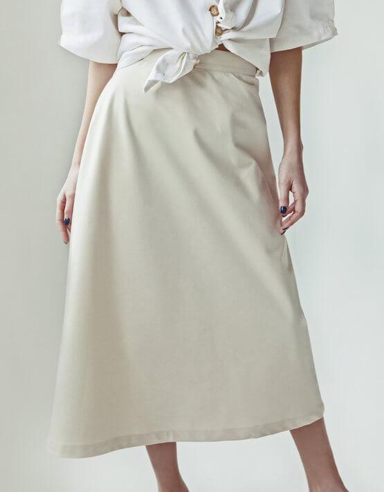 Хлопковая юбка You SNDR_SSY12, фото 2 - в интеренет магазине KAPSULA
