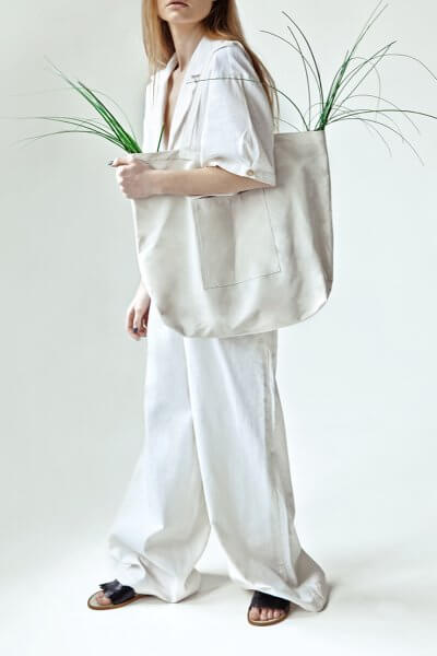 Широкие брюки You из льна SNDR_SSY15, фото 1 - в интеренет магазине KAPSULA