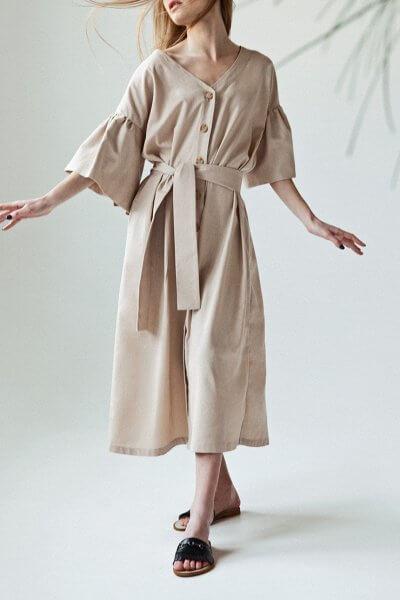 Льняное платье You SNDR_SSY2c, фото 4 - в интеренет магазине KAPSULA