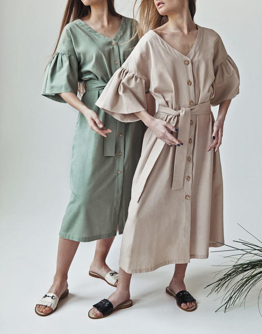 Льняное платье You SNDR_SSY2h, фото 1 - в интернет магазине KAPSULA