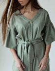 Льняное платье You SNDR_SSY2c, фото 3 - в интеренет магазине KAPSULA