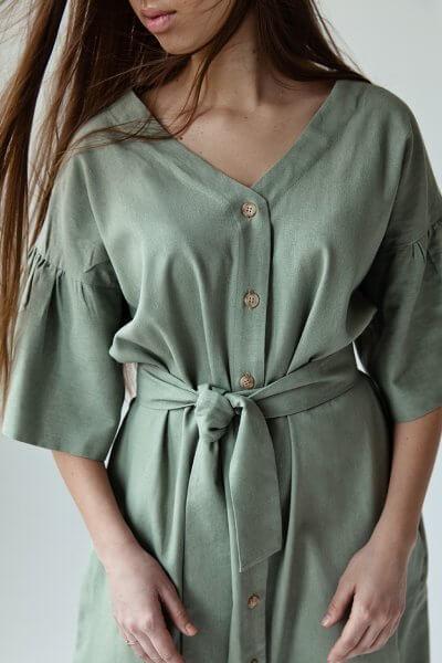Льняное платье You SNDR_SSY2h, фото 1 - в интеренет магазине KAPSULA