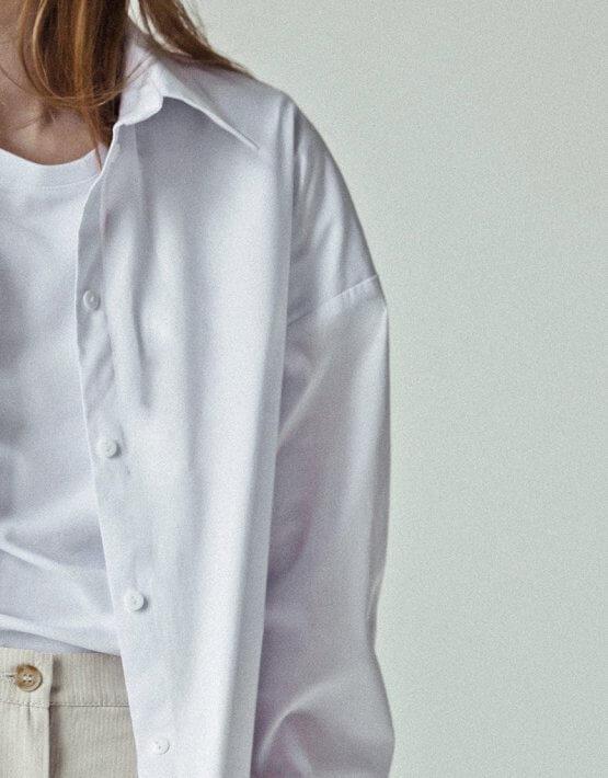 Хлопковая рубашка You SNDR_SSY5, фото 2 - в интеренет магазине KAPSULA