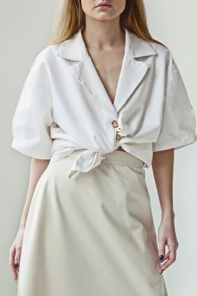 Льняная блуза You SNDR_SSY8a, фото 1 - в интеренет магазине KAPSULA