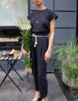 Широкие брюки из хлопка VONA_SS-20-58, фото 2 - в интеренет магазине KAPSULA