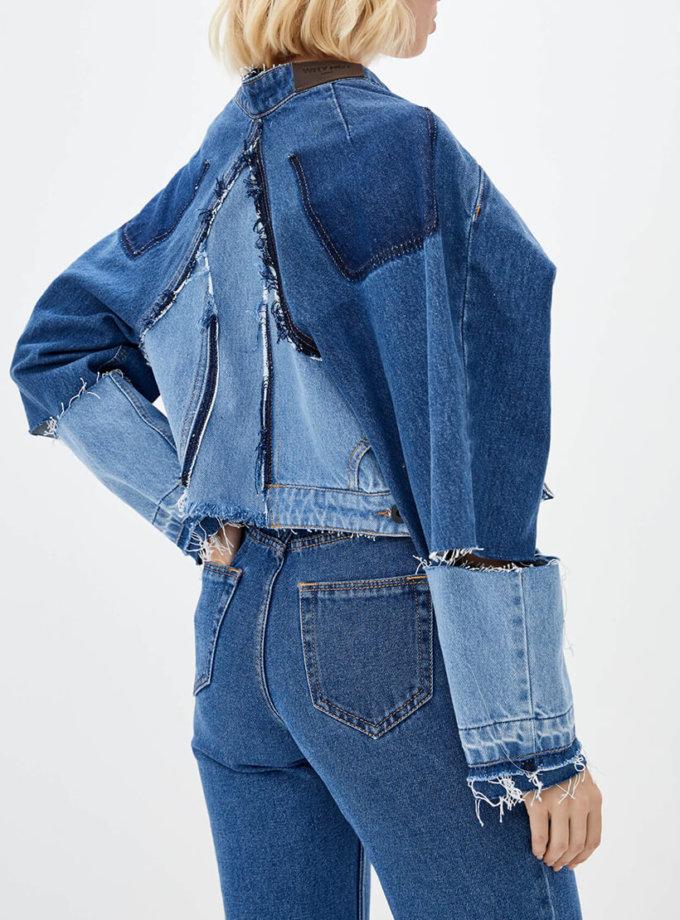 Легкая куртка из денима WNDM_djre1, фото 1 - в интеренет магазине KAPSULA