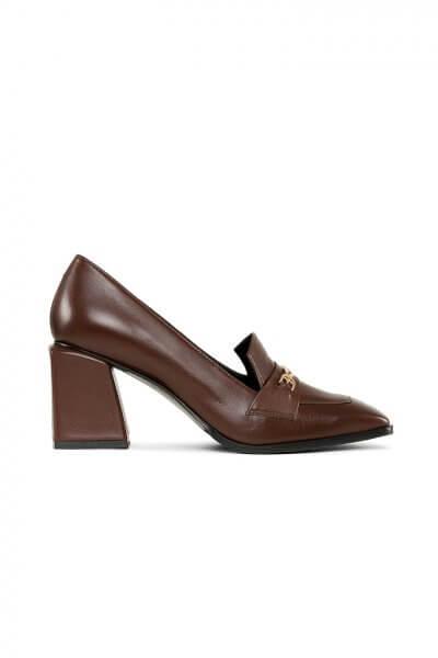 Кожаные туфли Agata MRSL_066122, фото 4 - в интеренет магазине KAPSULA