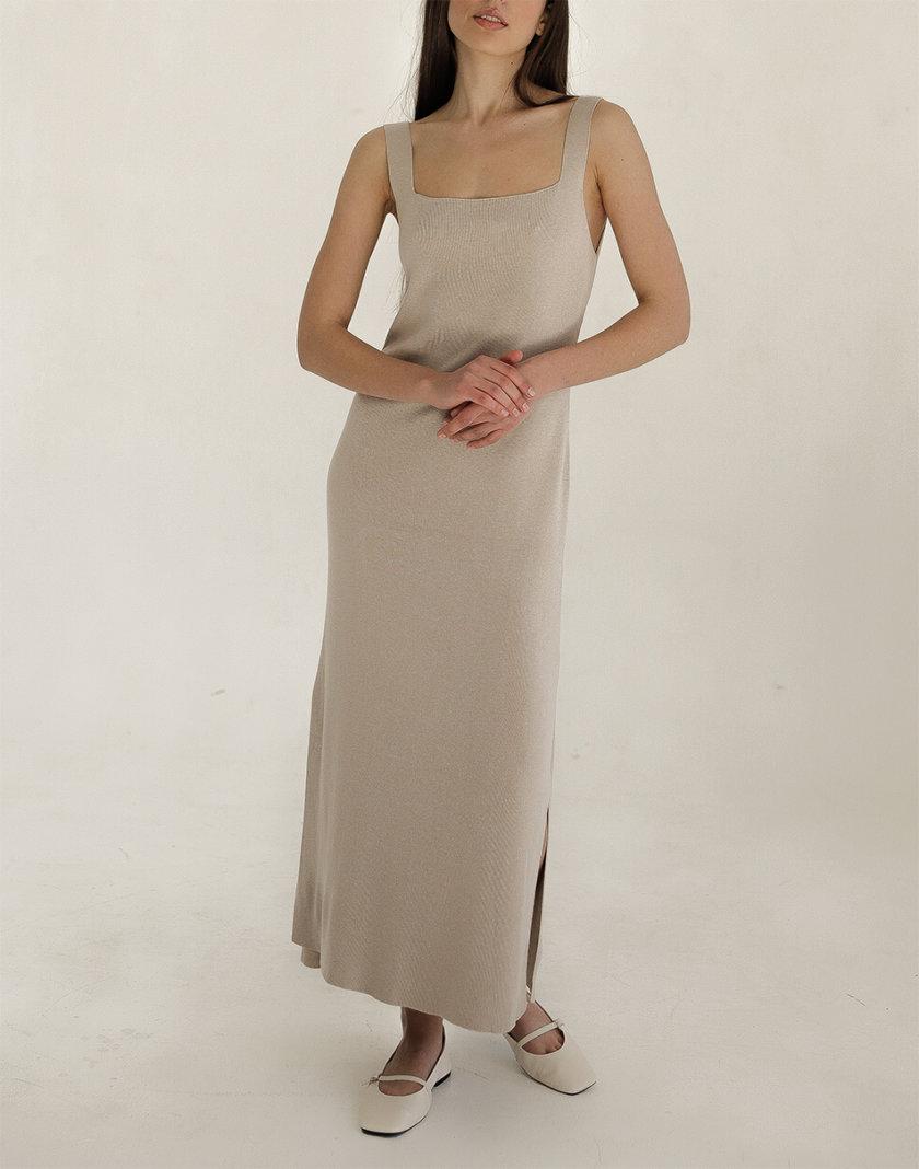 Трикотажное платье FRBC_FBPL_FW_20_01, фото 1 - в интернет магазине KAPSULA