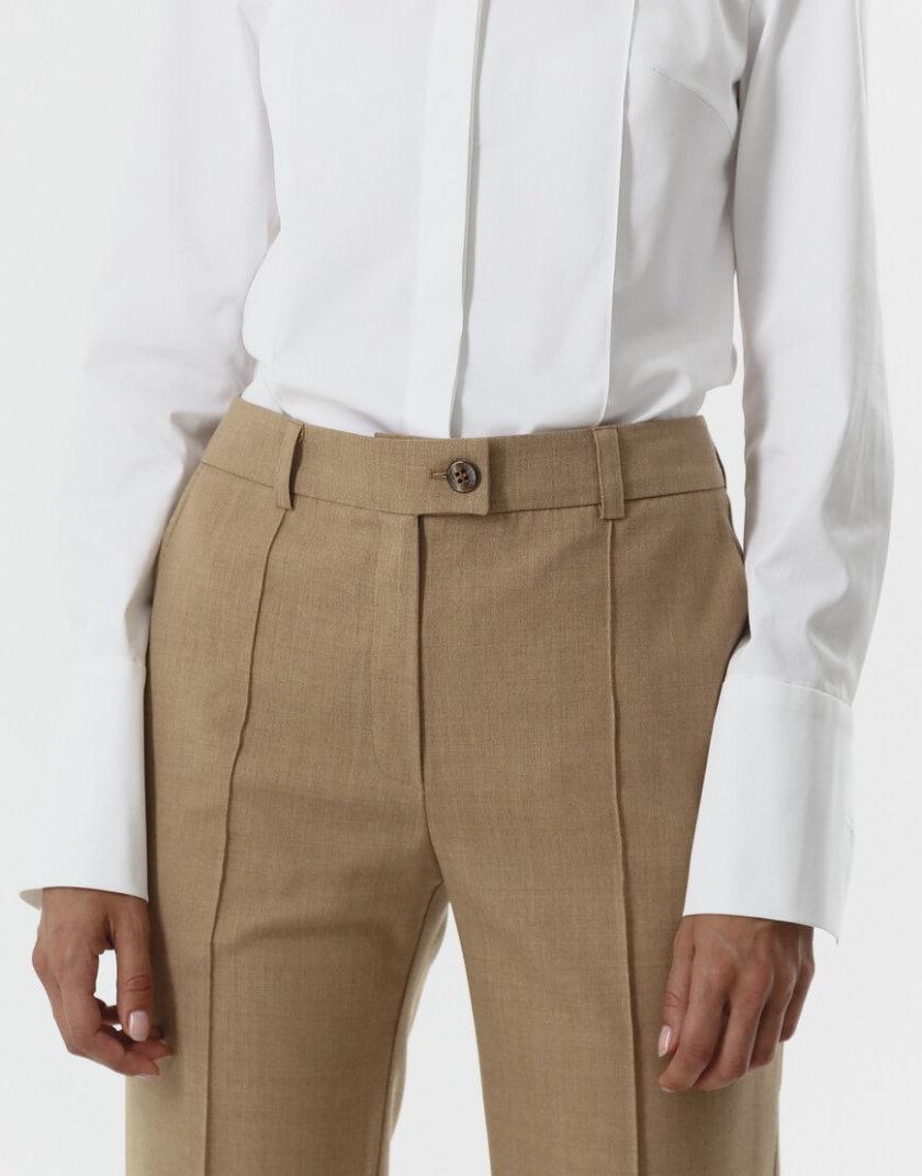 Прямые брюки из шерсти SHKO_20017004, фото 1 - в интернет магазине KAPSULA