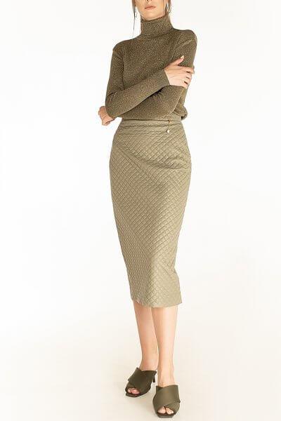 Стеганая юбка Olive WNDR_fw2021_qsol_11, фото 1 - в интеренет магазине KAPSULA