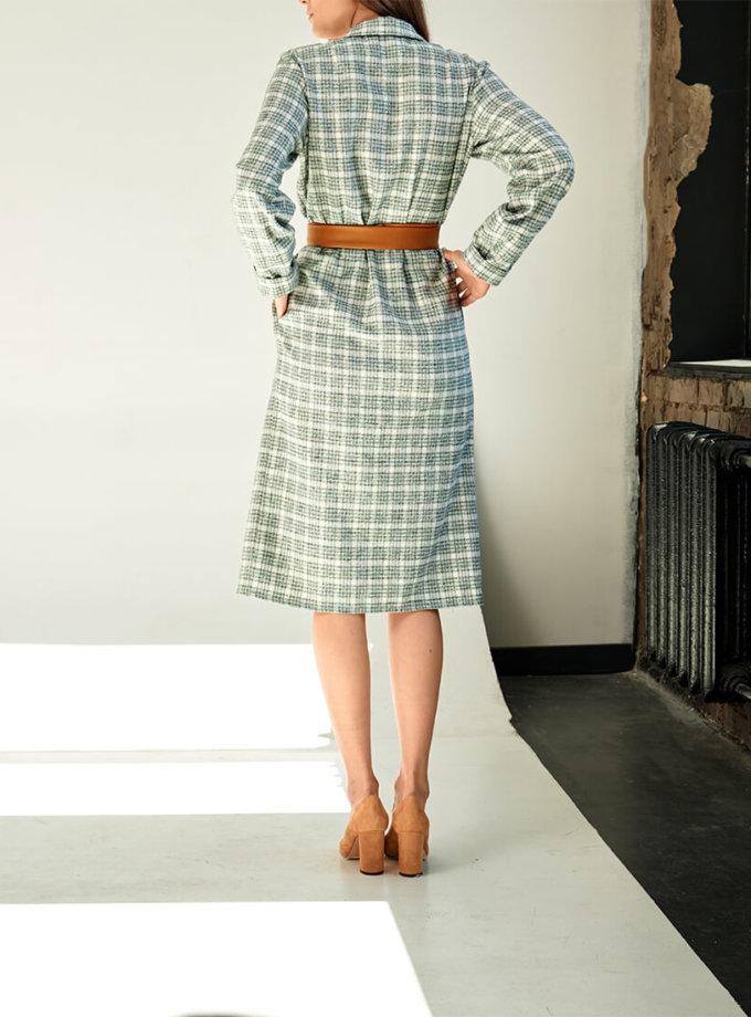 Платье-жакет из хлопка KS_FW-23-03, фото 1 - в интернет магазине KAPSULA