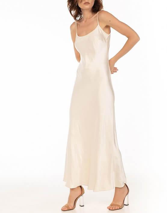 Платье c бретелями-цепями Beige WNDR_fw2021_sdcbez_15, фото 7 - в интеренет магазине KAPSULA